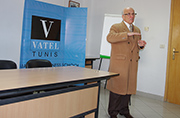 Besuch von Vatel, Ecole Internatione d'hôtellerie et de management.